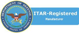 United States Department of Defense ITAR Registered Supplier